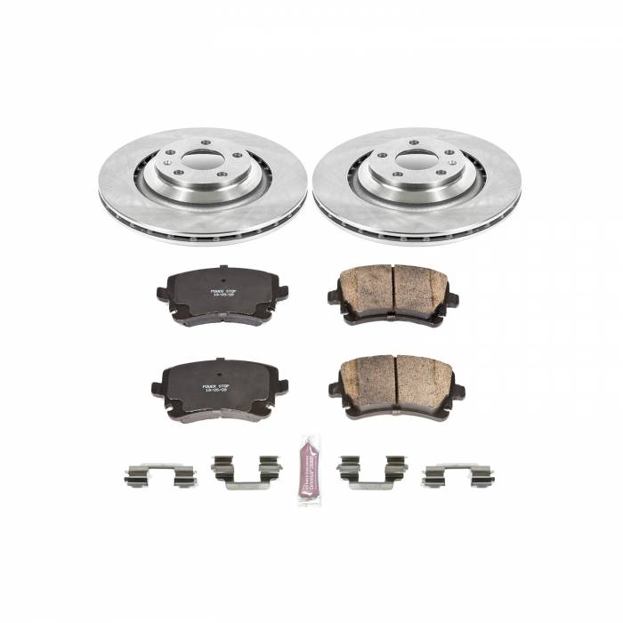 Power Stop - Autospecialty By Power Stop 1-Click Daily Driver Brake Kits | Power Stop (KOE4567)