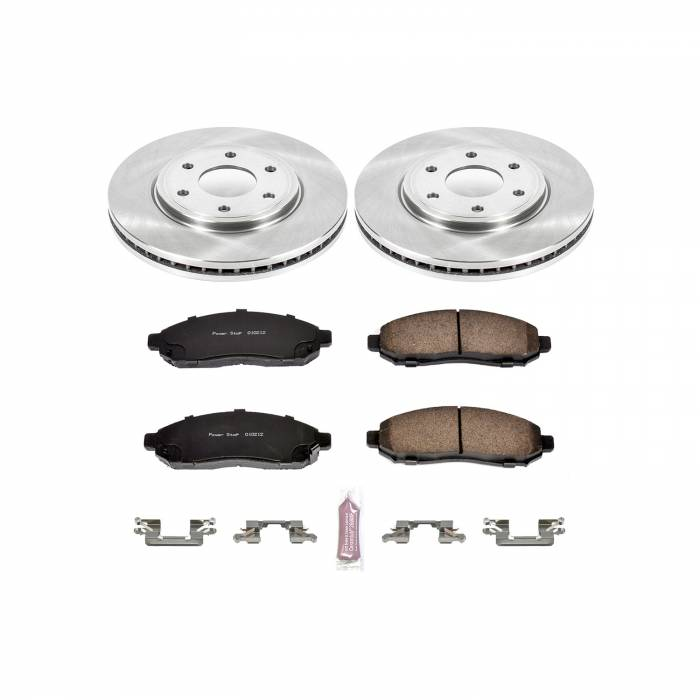 Power Stop - Autospecialty By Power Stop 1-Click Daily Driver Brake Kits | Power Stop (KOE4611)
