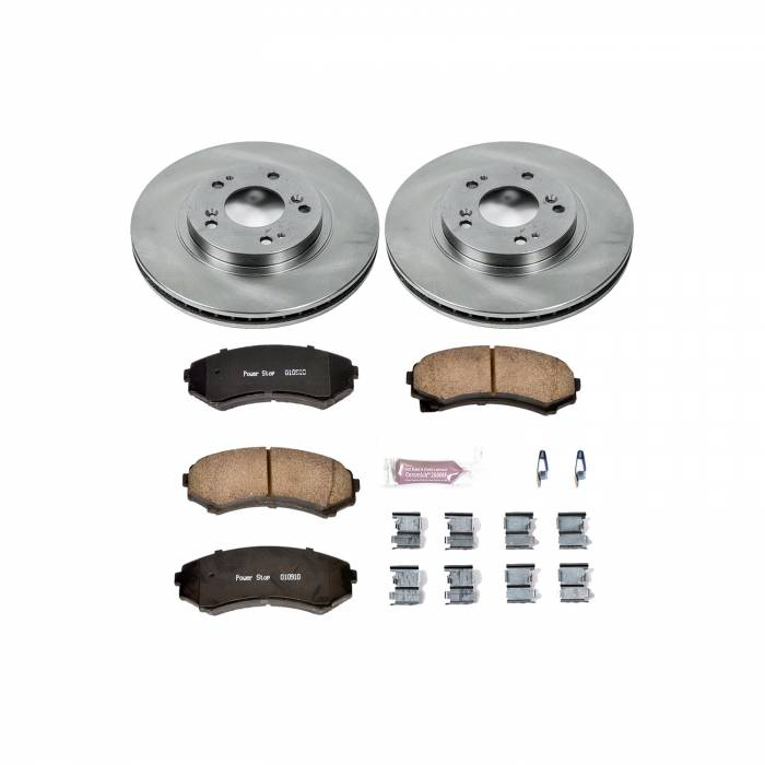 Power Stop - Autospecialty By Power Stop 1-Click Daily Driver Brake Kits | Power Stop (KOE5258)