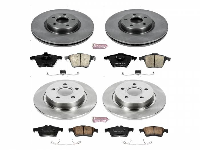 Power Stop - Autospecialty By Power Stop 1-Click Daily Driver Brake Kits | Power Stop (KOE5469)
