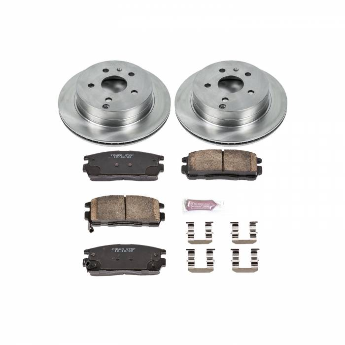 Power Stop - Autospecialty By Power Stop 1-Click Daily Driver Brake Kits | Power Stop (KOE5558)