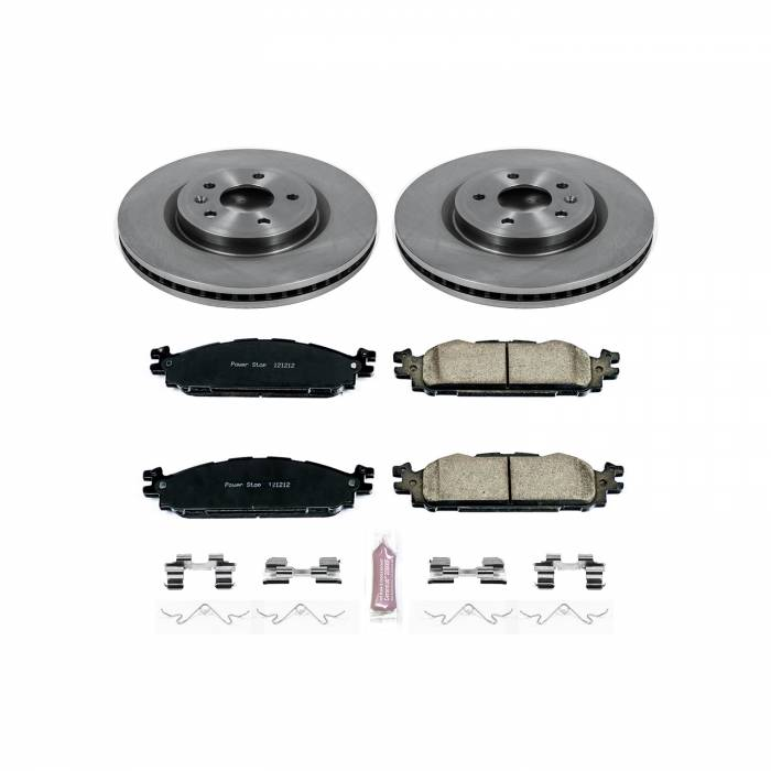 Power Stop - Autospecialty By Power Stop 1-Click Daily Driver Brake Kits   Power Stop (KOE5583)