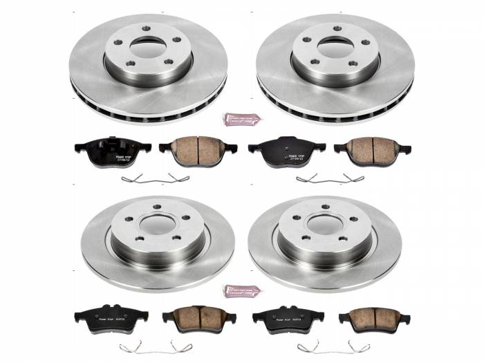 Power Stop - Autospecialty By Power Stop 1-Click Daily Driver Brake Kits | Power Stop (KOE7635)