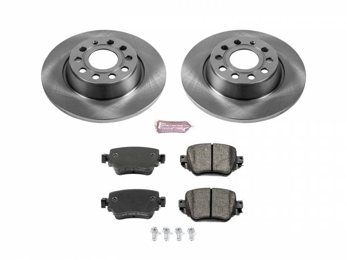 Power Stop - Autospecialty By Power Stop 1-Click Daily Driver Brake Kits | Power Stop (KOE7707)