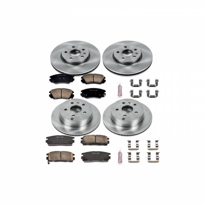 Power Stop - Autospecialty By Power Stop 1-Click Daily Driver Brake Kits | Power Stop (KOE5516)