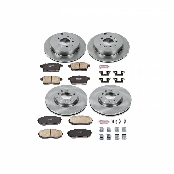 Power Stop - Autospecialty By Power Stop 1-Click Daily Driver Brake Kits | Power Stop (KOE5829)