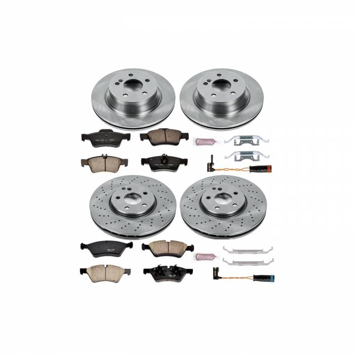 Power Stop - Autospecialty By Power Stop 1-Click Daily Driver Brake Kits   Power Stop (KOE6358)