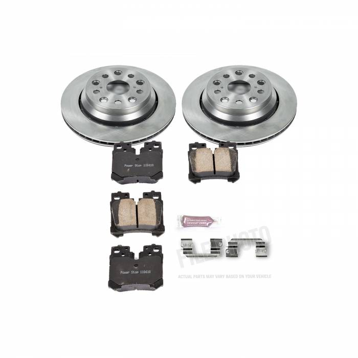 Power Stop - Autospecialty By Power Stop 1-Click Daily Driver Brake Kits | Power Stop (KOE6368)
