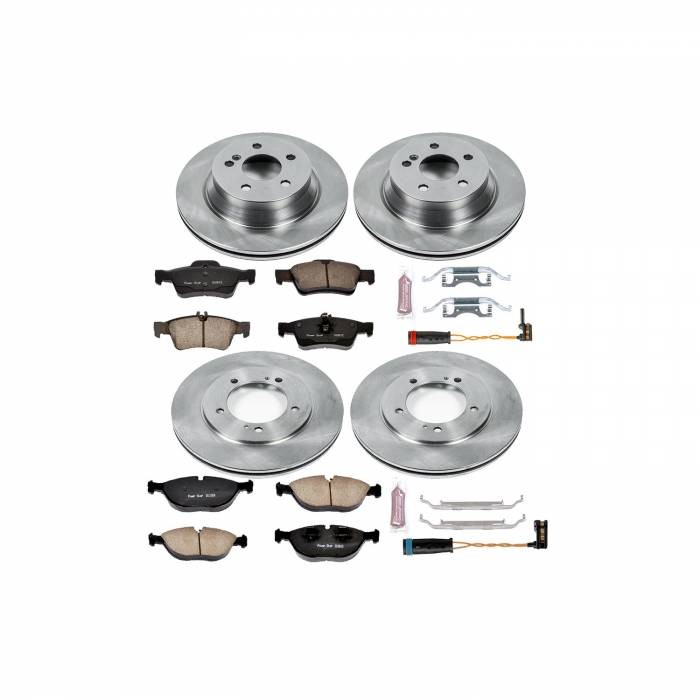 Power Stop - Autospecialty By Power Stop 1-Click Daily Driver Brake Kits | Power Stop (KOE4517)