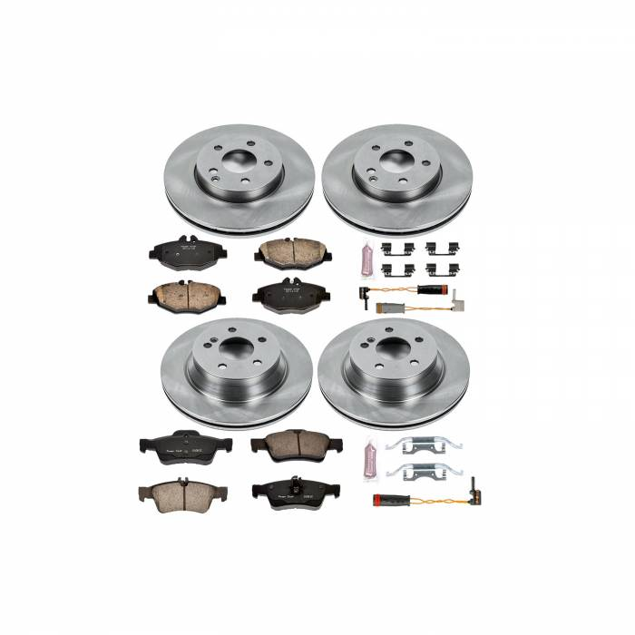 Power Stop - Autospecialty By Power Stop 1-Click Daily Driver Brake Kits | Power Stop (KOE4524)