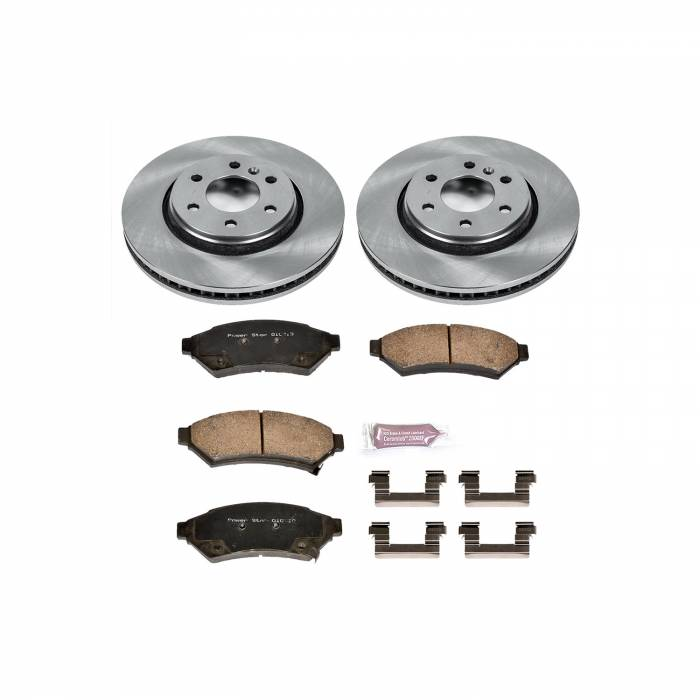 Power Stop - Autospecialty By Power Stop 1-Click Daily Driver Brake Kits   Power Stop (KOE4602)
