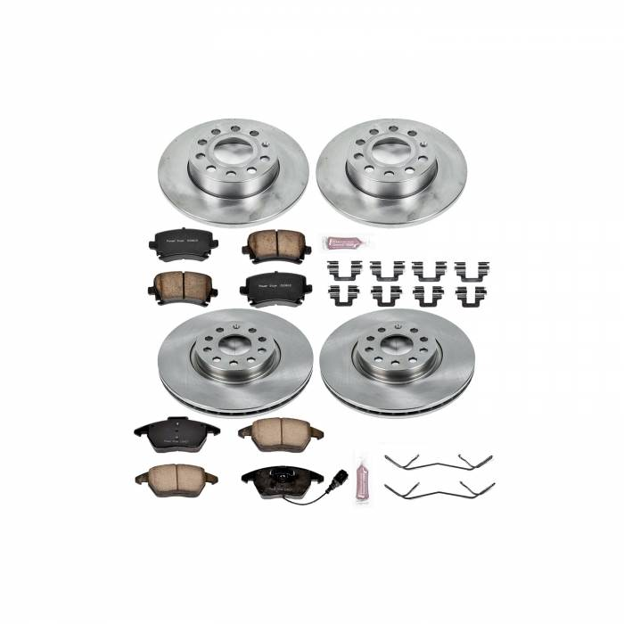 Power Stop - Autospecialty By Power Stop 1-Click Daily Driver Brake Kits   Power Stop (KOE5363)
