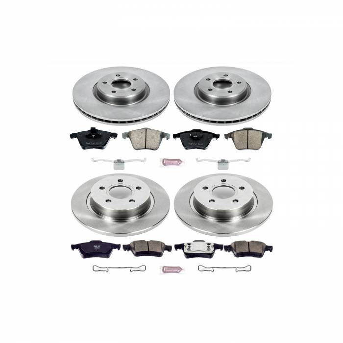 Power Stop - Autospecialty By Power Stop 1-Click Daily Driver Brake Kits | Power Stop (KOE5470)