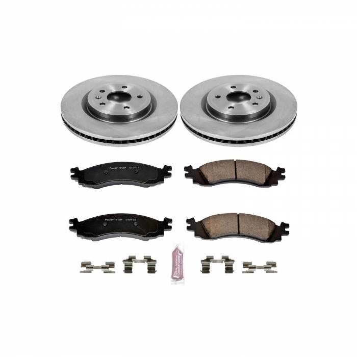 Power Stop - Autospecialty By Power Stop 1-Click Daily Driver Brake Kits | Power Stop (KOE5581)