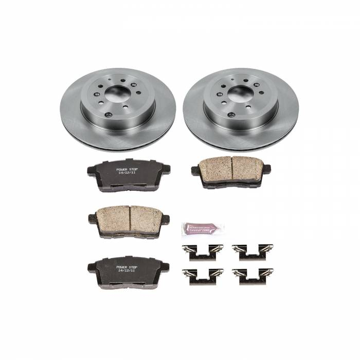 Power Stop - Autospecialty By Power Stop 1-Click Daily Driver Brake Kits | Power Stop (KOE5877)
