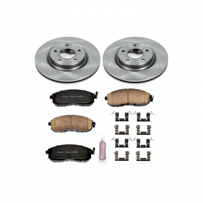 Power Stop - Autospecialty By Power Stop 1-Click Daily Driver Brake Kits   Power Stop (KOE6094)