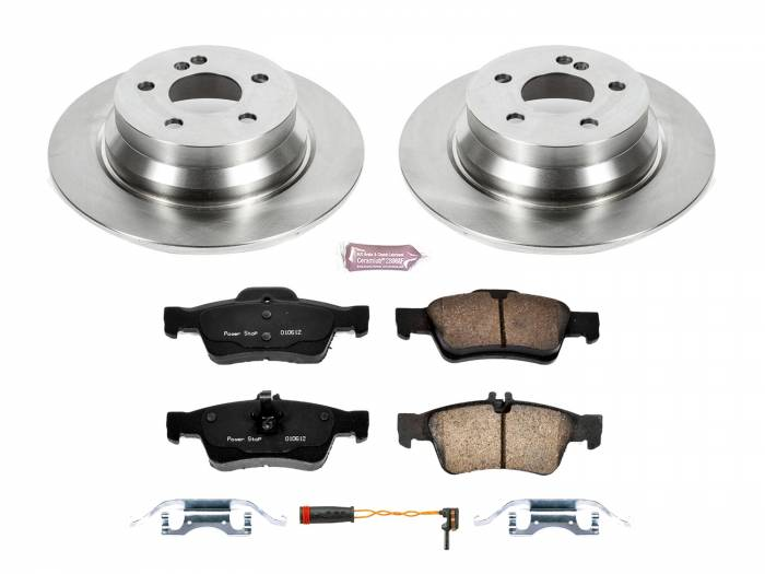 Power Stop - Autospecialty By Power Stop 1-Click Daily Driver Brake Kits | Power Stop (KOE7745)