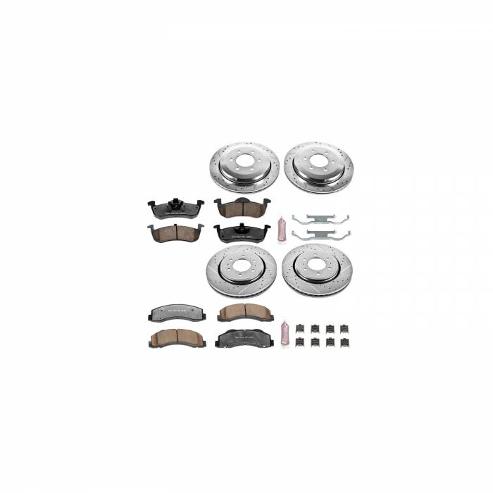 Power Stop - Z36 Severe-Duty Truck And Tow 1-Click Brake Kit | Power Stop (K5577-36)