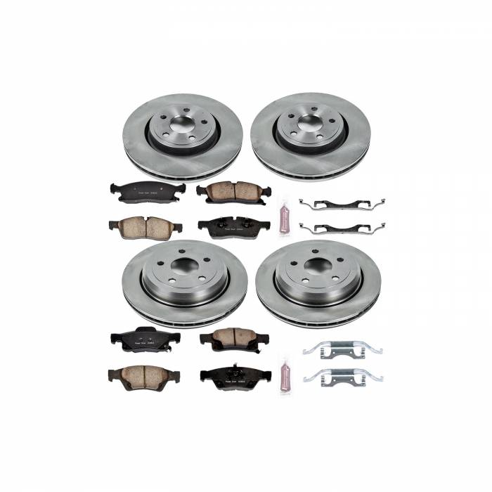 Power Stop - Autospecialty By Power Stop 1-Click Daily Driver Brake Kits | Power Stop (KOE5955)
