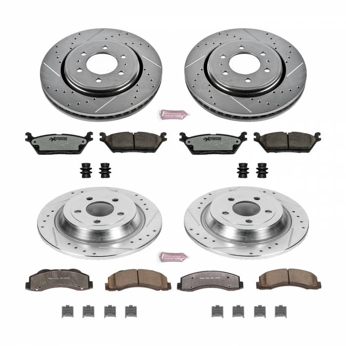 Power Stop - Z36 Severe-Duty Truck And Tow 1-Click Brake Kit | Power Stop (K6803-36)