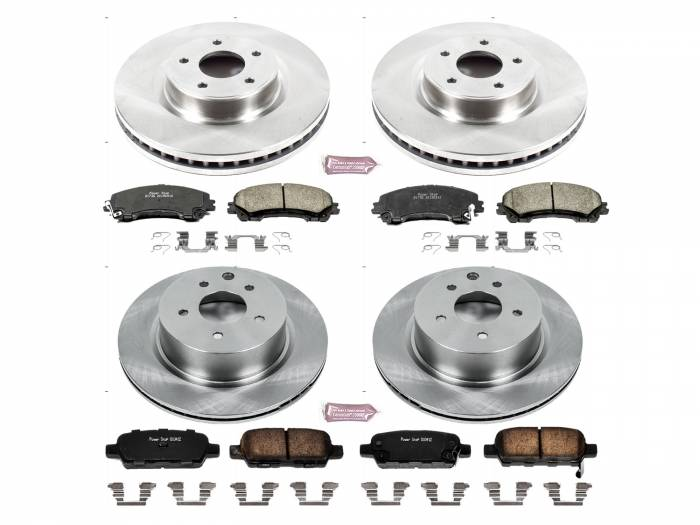 Power Stop - Autospecialty By Power Stop 1-Click Daily Driver Brake Kits | Power Stop (KOE7584)