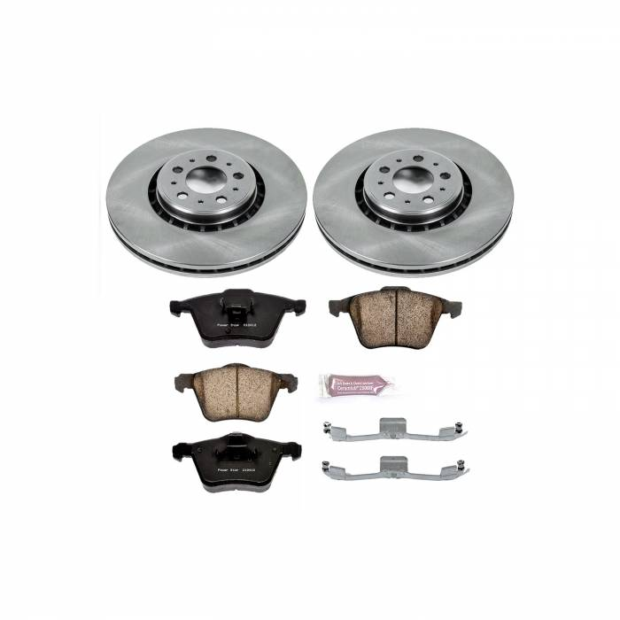 Power Stop - Autospecialty By Power Stop 1-Click Daily Driver Brake Kits | Power Stop (KOE4552)