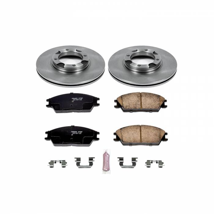 Power Stop - Autospecialty By Power Stop 1-Click Daily Driver Brake Kits   Power Stop (KOE4910)