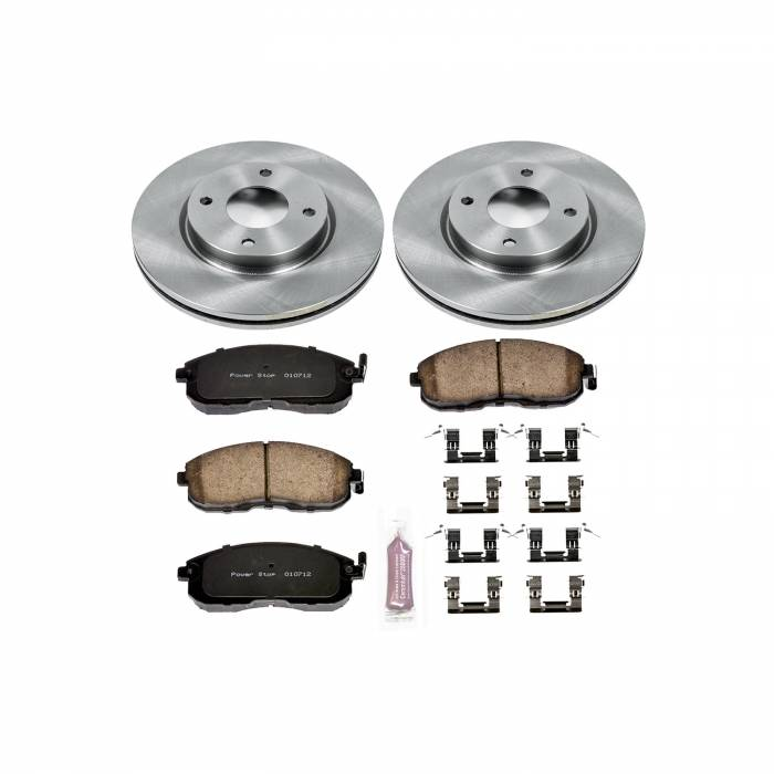 Power Stop - Autospecialty By Power Stop 1-Click Daily Driver Brake Kits   Power Stop (KOE5216)