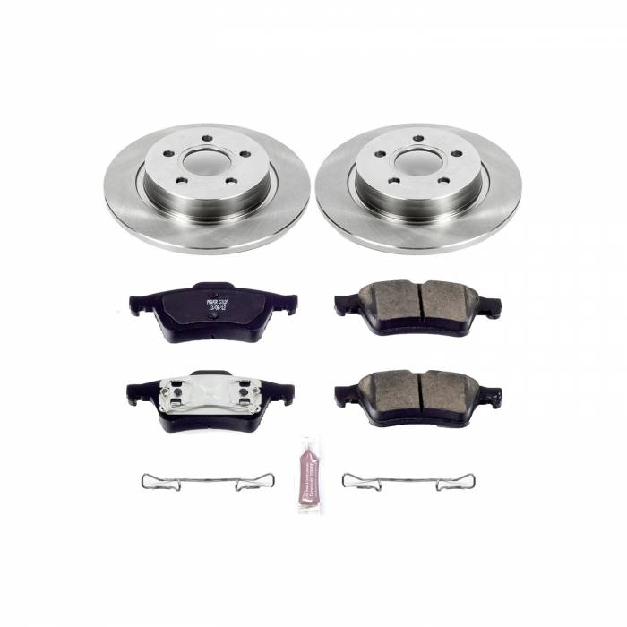 Power Stop - Autospecialty By Power Stop 1-Click Daily Driver Brake Kits   Power Stop (KOE5309)