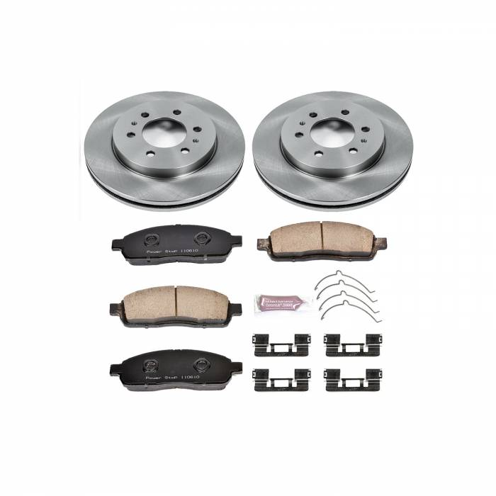 Power Stop - Autospecialty By Power Stop 1-Click Daily Driver Brake Kits   Power Stop (KOE5336)