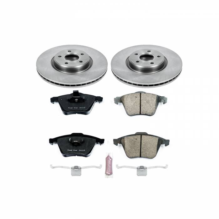 Power Stop - Autospecialty By Power Stop 1-Click Daily Driver Brake Kits   Power Stop (KOE5430)