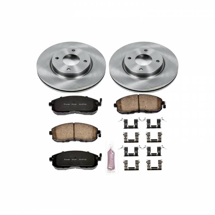 Power Stop - Autospecialty By Power Stop 1-Click Daily Driver Brake Kits   Power Stop (KOE5817)