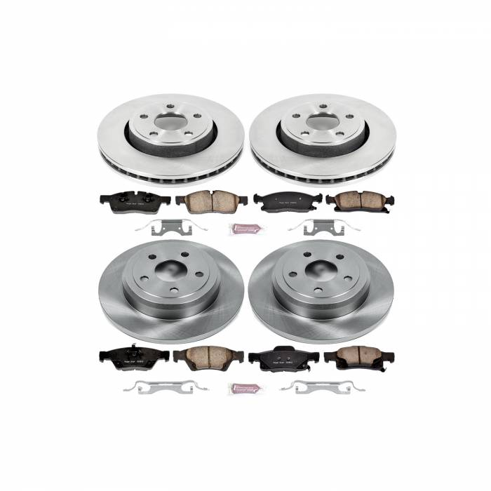 Power Stop - Autospecialty By Power Stop 1-Click Daily Driver Brake Kits | Power Stop (KOE5952)