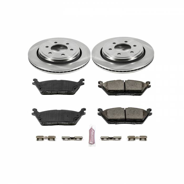 Power Stop - Autospecialty By Power Stop 1-Click Daily Driver Brake Kits | Power Stop (KOE6814)