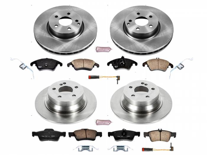 Power Stop - Autospecialty By Power Stop 1-Click Daily Driver Brake Kits   Power Stop (KOE7612)