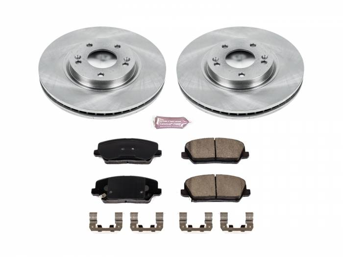 Power Stop - Autospecialty By Power Stop 1-Click Daily Driver Brake Kits | Power Stop (KOE7673)