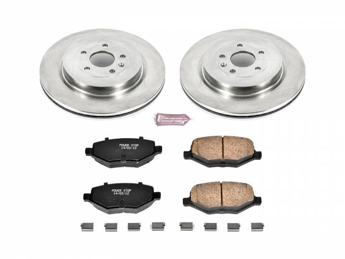 Power Stop - Autospecialty By Power Stop 1-Click Daily Driver Brake Kits | Power Stop (KOE7724)