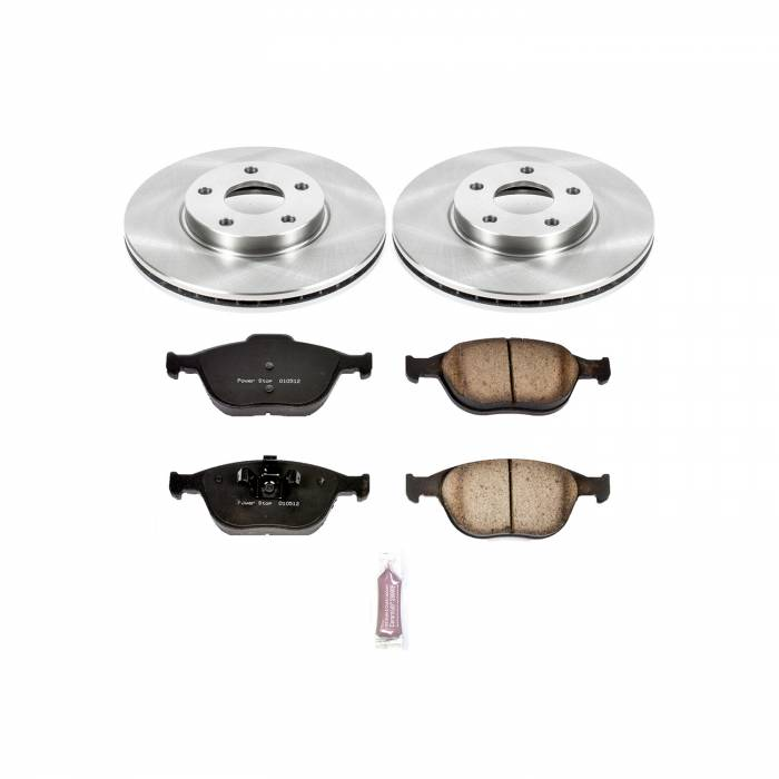 Power Stop - Autospecialty By Power Stop 1-Click Daily Driver Brake Kits   Power Stop (KOE5580)