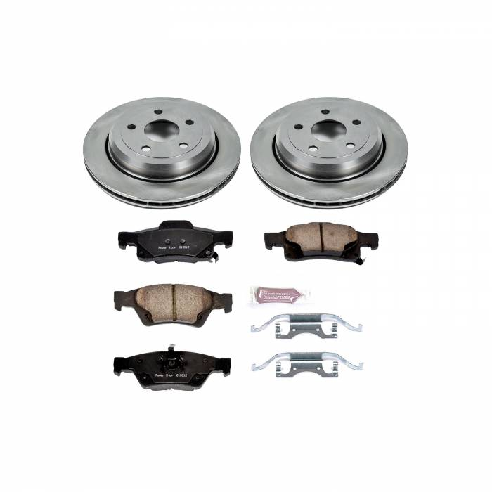 Power Stop - Autospecialty By Power Stop 1-Click Daily Driver Brake Kits | Power Stop (KOE5953)