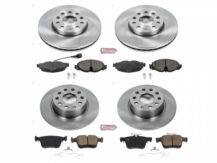 Power Stop - Autospecialty By Power Stop 1-Click Daily Driver Brake Kits | Power Stop (KOE7633)