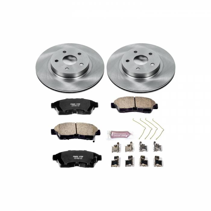 Power Stop - Autospecialty By Power Stop 1-Click Daily Driver Brake Kits | Power Stop (KOE3163)