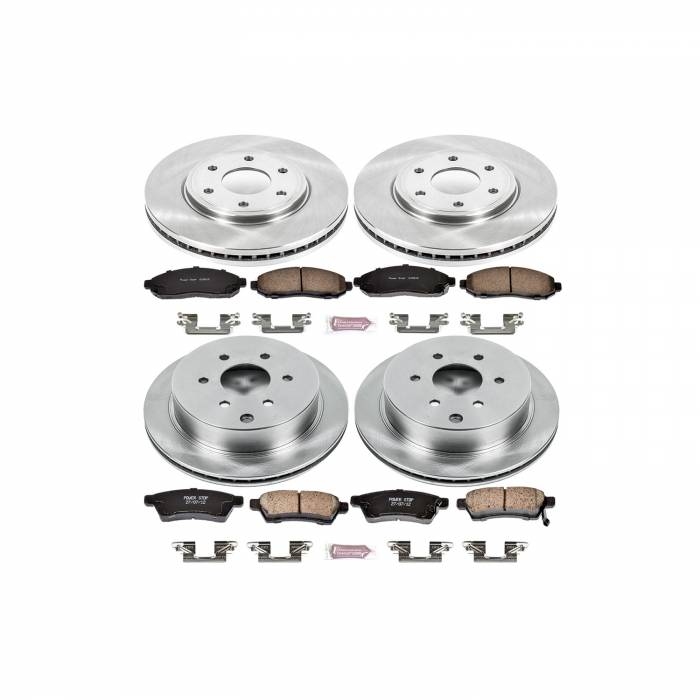 Power Stop - Autospecialty By Power Stop 1-Click Daily Driver Brake Kits | Power Stop (KOE4063)