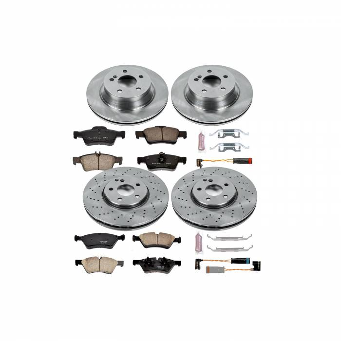 Power Stop - Autospecialty By Power Stop 1-Click Daily Driver Brake Kits | Power Stop (KOE4516)