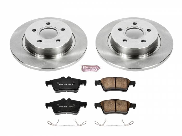 Power Stop - Autospecialty By Power Stop 1-Click Daily Driver Brake Kits   Power Stop (KOE4613)