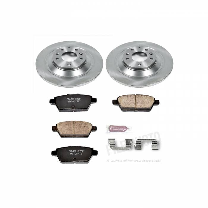 Power Stop - Autospecialty By Power Stop 1-Click Daily Driver Brake Kits   Power Stop (KOE4655)