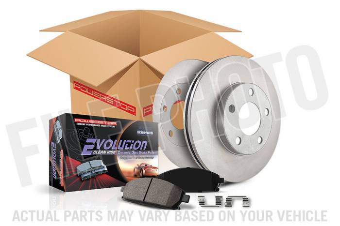 Power Stop - Autospecialty By Power Stop 1-Click Daily Driver Brake Kits | Power Stop (KOE4965)