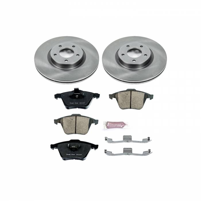 Power Stop - Autospecialty By Power Stop 1-Click Daily Driver Brake Kits | Power Stop (KOE5279)