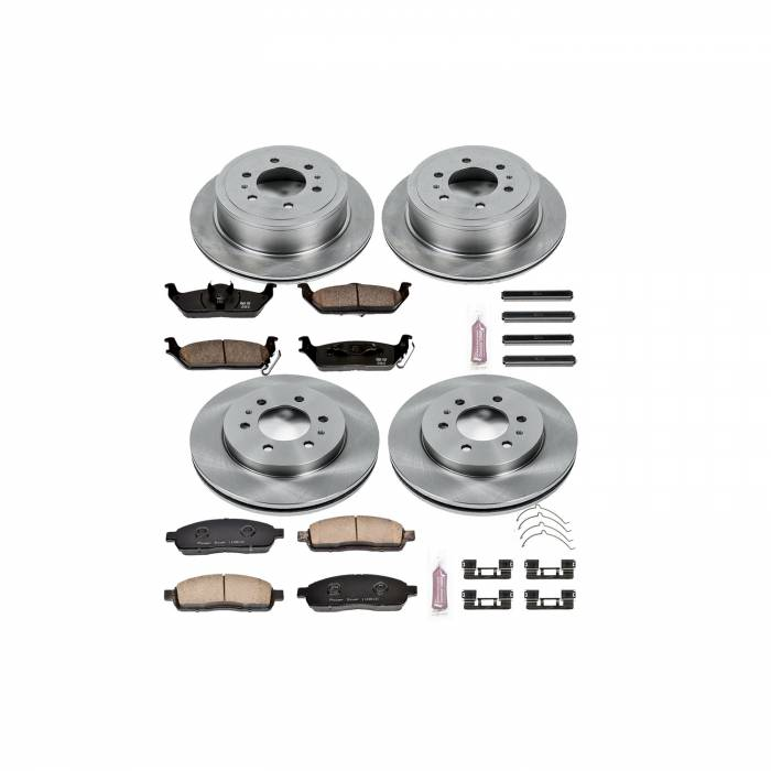 Power Stop - Autospecialty By Power Stop 1-Click Daily Driver Brake Kits   Power Stop (KOE5335)