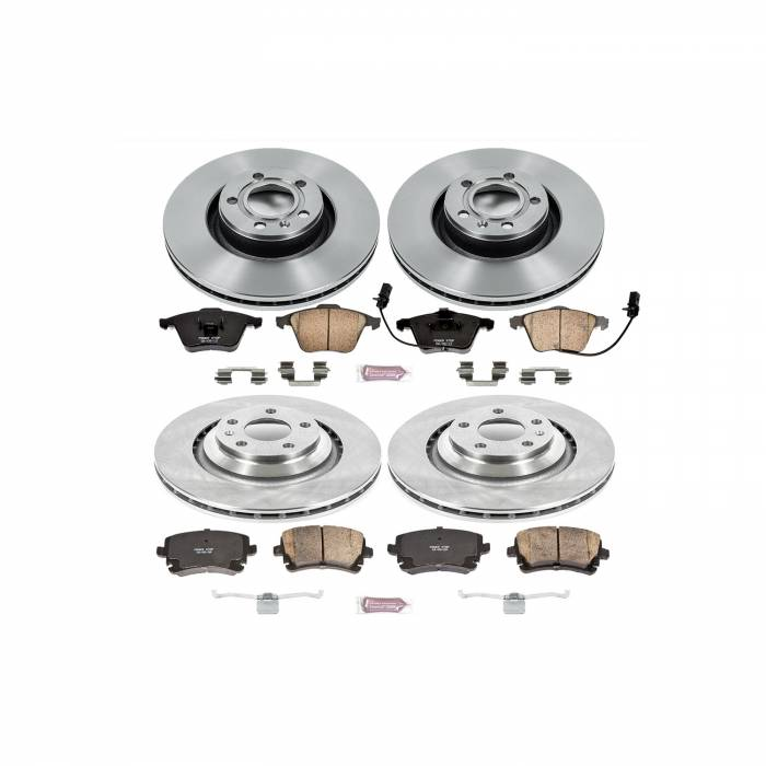 Power Stop - Autospecialty By Power Stop 1-Click Daily Driver Brake Kits | Power Stop (KOE5355)