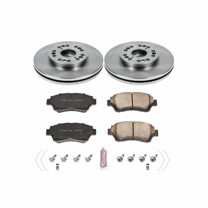 Power Stop - Autospecialty By Power Stop 1-Click Daily Driver Brake Kits | Power Stop (KOE5388)
